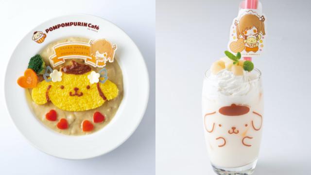 「ポムポムプリンカフェ」×VTuber「因幡はねる」コラボ決定!限定メニューやノベルティが登場