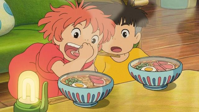 """「一番食べたい""""ジブリ飯""""」ランキングTOP10発表!第1位は『崖の上のポニョ』ハムラーメン"""
