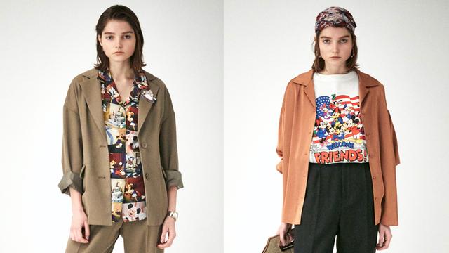 『ディズニー』x「MOUSSY」SPコレクションが登場!短編アニメ映画の総柄シャツ&タイダイ柄アイテムなど