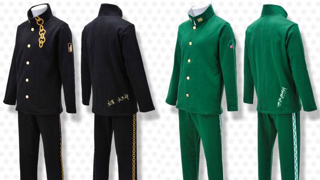 『ジョジョ』承太郎・花京院・ポルナレフのルームウェアが登場ッ!キャラ着用の服をイメージした個性的なデザイン