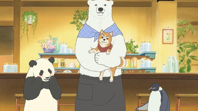"""『織田シナモン信長』×『しろくまカフェ』武将犬たちが""""あの""""動物カフェに来店!?"""