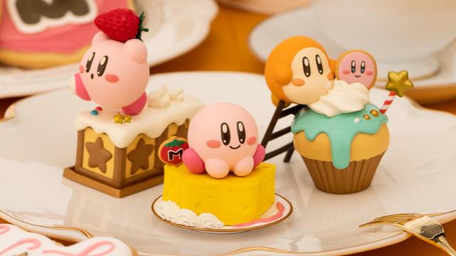 『星のカービィ』お菓子モチーフのフィギュア登場!全国のゲームセンターで投入開始