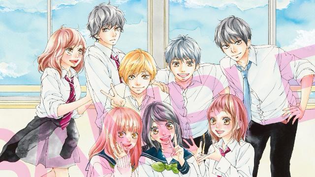 映画「ふりふら」作者・咲坂伊緒先生の描き下ろしビジュアル公開!3作品のキャラが夢のコラボ