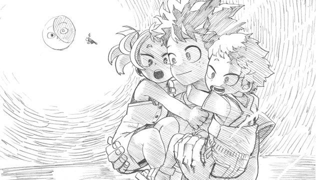 劇場版『ヒロアカ』北米公開・日本アニメ映画の興収歴代8位にランクイン!堀越耕平先生によるイラストも