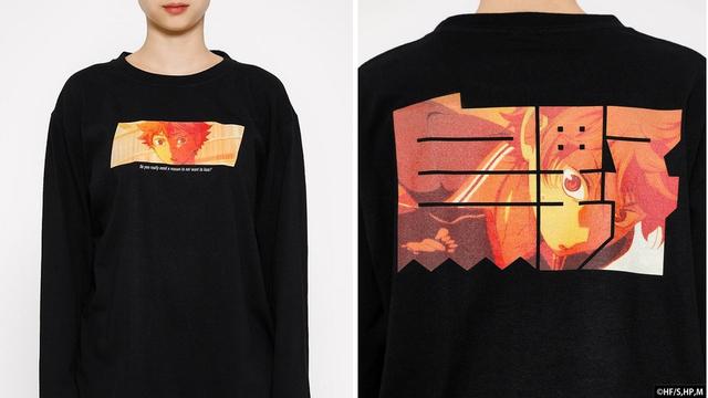 『ハイキュー!!』日向・影山・月島・山口のTシャツ4種が登場!名場面をプリントしたデザイン