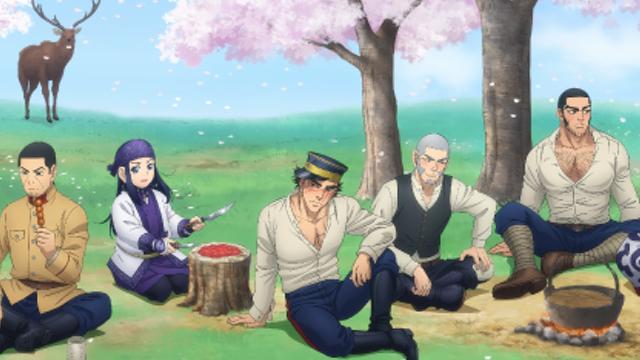 『ゴールデンカムイ』桜まつりをテーマにした描き下ろし公開&期間限定ショップ開催決定!