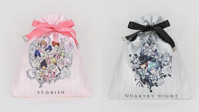 劇場版『うたプリ』フラワーシリーズのイラストを使用した巾着ポーチが登場!