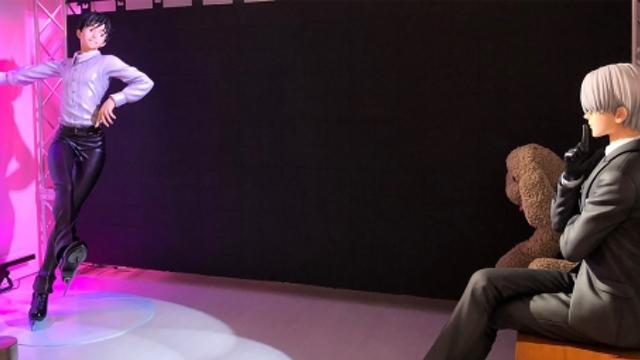 """『ユーリ!!! on ICE』勇利とヴィクトルの等身大フィギュアも展示!アニメ・マンガが集う新空間""""CULTURE""""オープン!"""