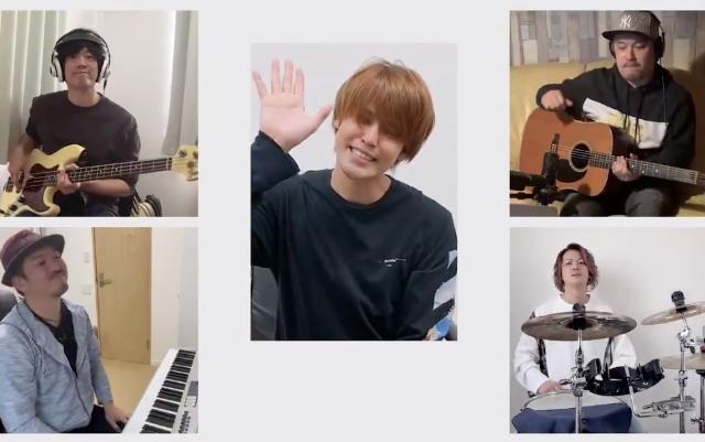 """宮野真守さん&""""チームマモ""""によるスペシャルセッション動画公開!「居る場所はバラバラだけど、心は一つです。」"""