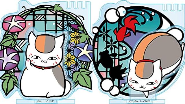 『夏目友人帳』ニャンコ先生のアクセサリースタンド登場!朝顔や金魚など夏を感じさせる涼しげデザイン