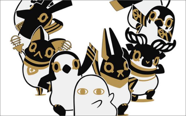 ゆるかわキャラクター『とーとつにエジプト神』がとーとつにアニメ化決定!キービジュ&ティザーPV公開