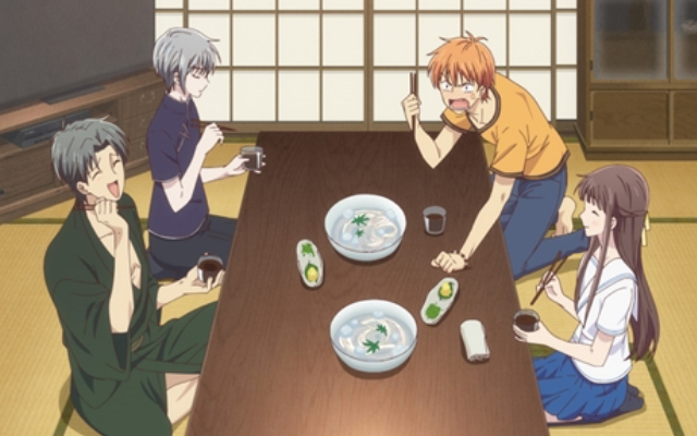 TVアニメ『フルバ』2nd season2話感想 将来に抱える不安…紫呉の優しいお話と素麺がつなぐ絆