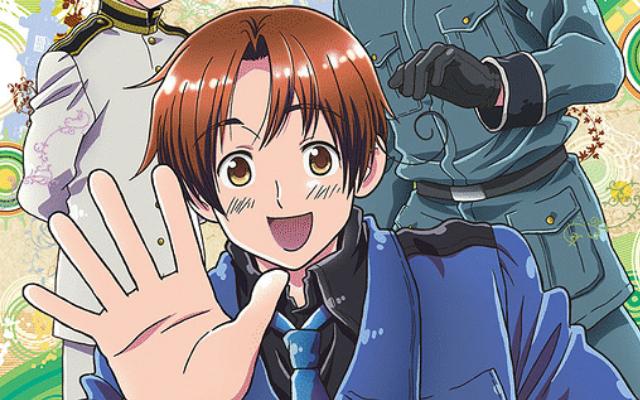 TVアニメ『ヘタリア』全4シリーズニコ生一挙放送決定!お家で世界旅行を楽しもう