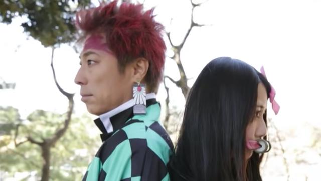 田村淳さんがコスプレで『鬼滅の刃』OPを再現した動画公開!クオリティーの高さに称賛の声も