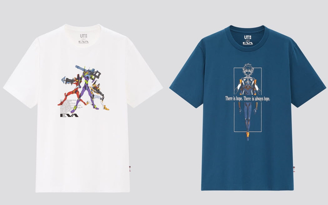 『エヴァ』x ユニクロ「UT」描き下ろし&初出しのイラストを使用したTシャツ販売決定!