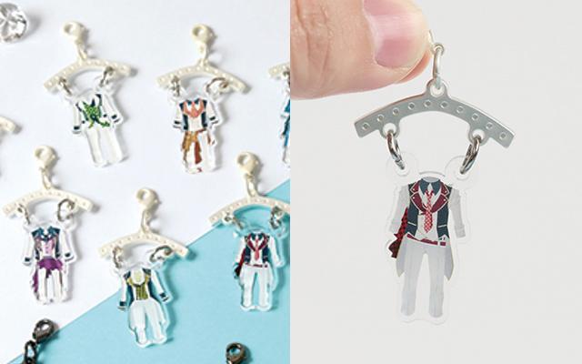 『アイナナ』アイドルたちの衣装がモチーフのチャーム「コスプチコレクション」が登場!
