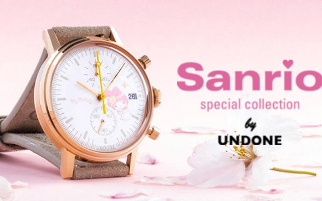 『サンリオ』マイメロディ&クロミモデルの腕時計が登場!身につけた人しか楽しめない背面も要チェック