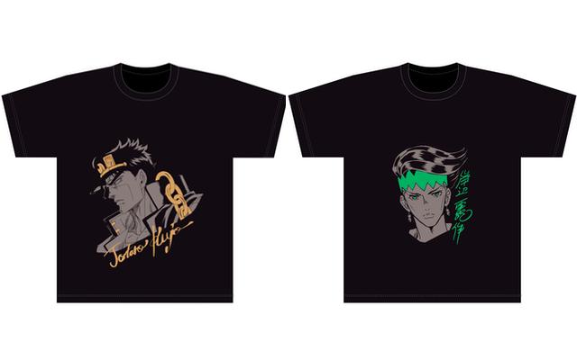 『ジョジョの奇妙な冒険』シリーズ新Tシャツコレクションが登場ッ!1部〜5部の人気キャラ10人が参戦