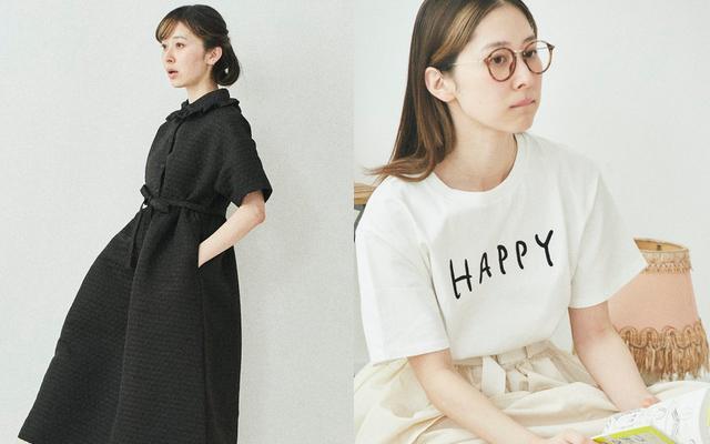『腐女子のつづ井さん』作品に登場する「HAPPY Tシャツ」「オカザキさんの喪服ワンピース」など販売決定!