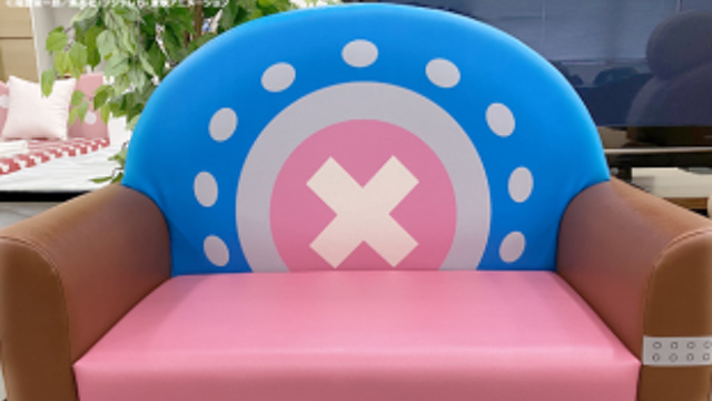 『ONE PIECE』チョッパーがモチーフのソファ「ソッファー」が登場!細部にまでこだわったデザインに注目