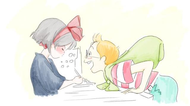 『魔女の宅急便』トンボ役・山口勝平さんが描いたキキとトンボのイラストが素敵すぎる!
