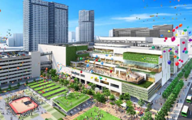 コミケ参加者に朗報!ビッグサイト近くにオープン予定の「有明ガーデン」が革命的施設だと話題に