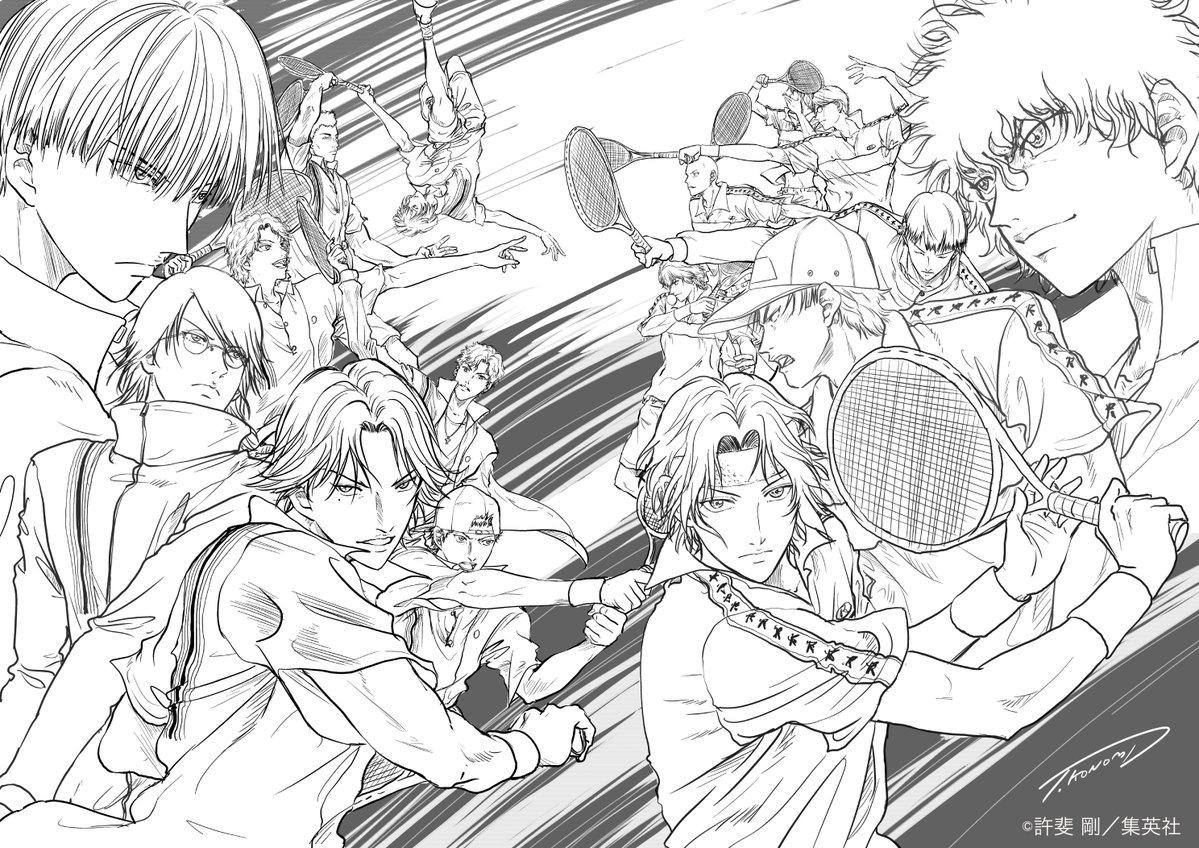 『テニプリ』アニメ新シリーズ制作決定!待望のドリームマッチ「新テニスの王子様 氷帝vs立海 Game of Future」