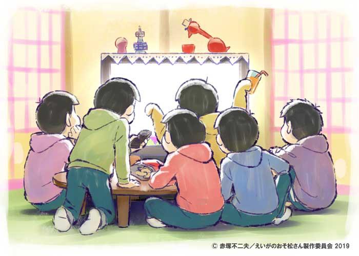 ニコ生で「えいがのおそ松さん」無料上映決定!おうちで待機中の6つ子と一緒に鑑賞会