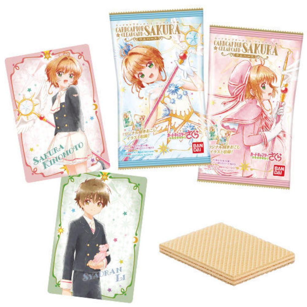 『カードキャプターさくらクリアカード編』ウエハース発売!封入のカードはもちろん2種のパッケージも可愛い