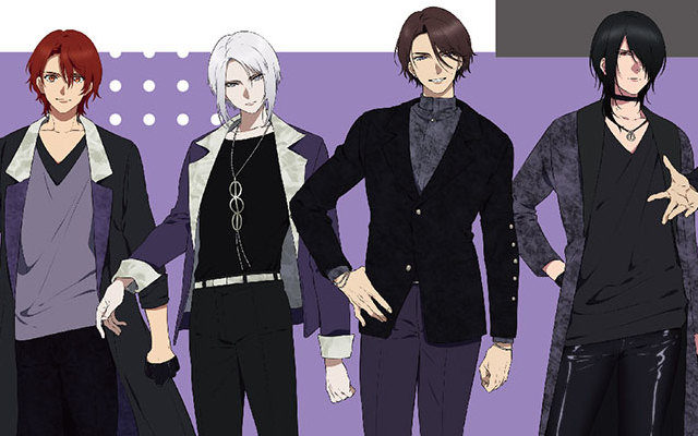 ツキプロ『VAZZROCK』キャラクター設定&ビジュアルが更新!成長を感じる髪型や身長の変化に注目