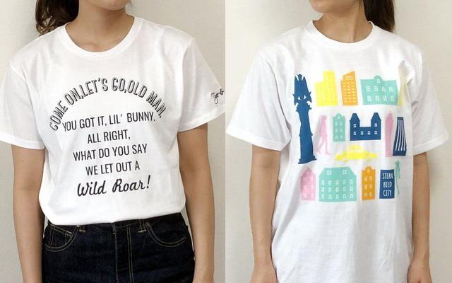 『タイバニ 』ロゴTシャツ&シルエットTシャツが登場!カラフルなシュテルンビルドの街並みがハイセンス