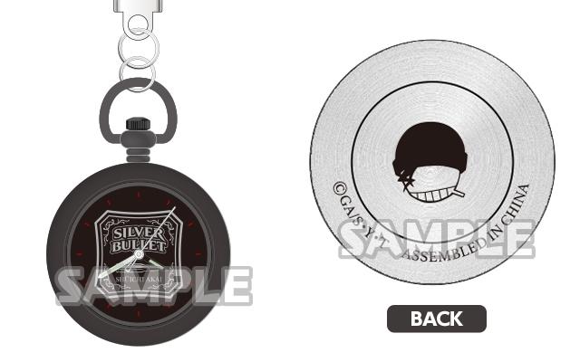 『名探偵コナン』赤井秀一モチーフのミニウォッチが登場!「Silver Bullet」の文字とアイコンマーク入り