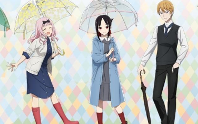 『かぐや様は告らせたい』雨の日のお出かけがテーマの描き下ろし公開&アニメイトフェア開催決定!