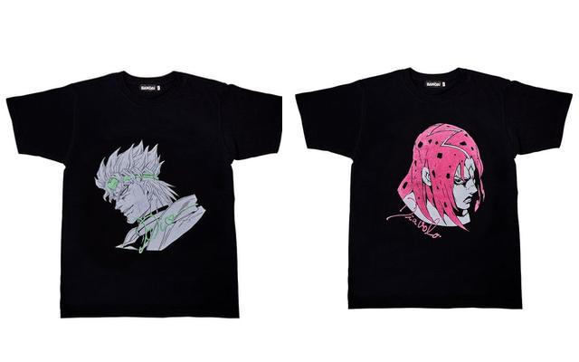 『ジョジョの奇妙な冒険』新Tシャツコレクション第2弾が登場ッ!1部〜5部の悪役キャラ10人が参戦