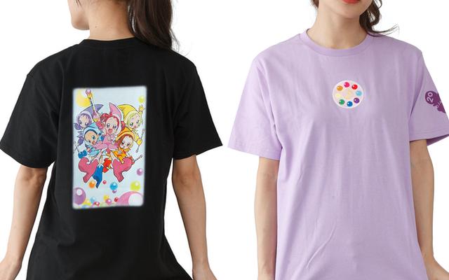 『おジャ魔女どれみ』20周年記念Tシャツ8種が登場!バックプリント&見習いタップの刺繍ワッペンがポイント