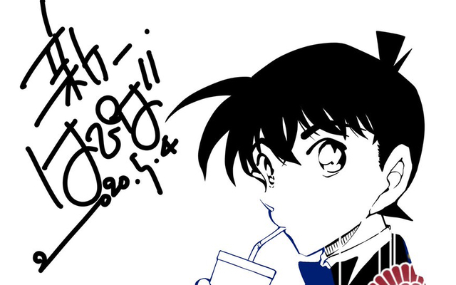 山口勝平さんが『名探偵コナン』工藤新一の誕生日を自作イラストでお祝い!