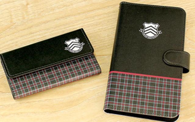 『ペルソナ5』キーケース&手帳型スマホケースが登場!秀尽学園高校の制服をイメージしたデザイン