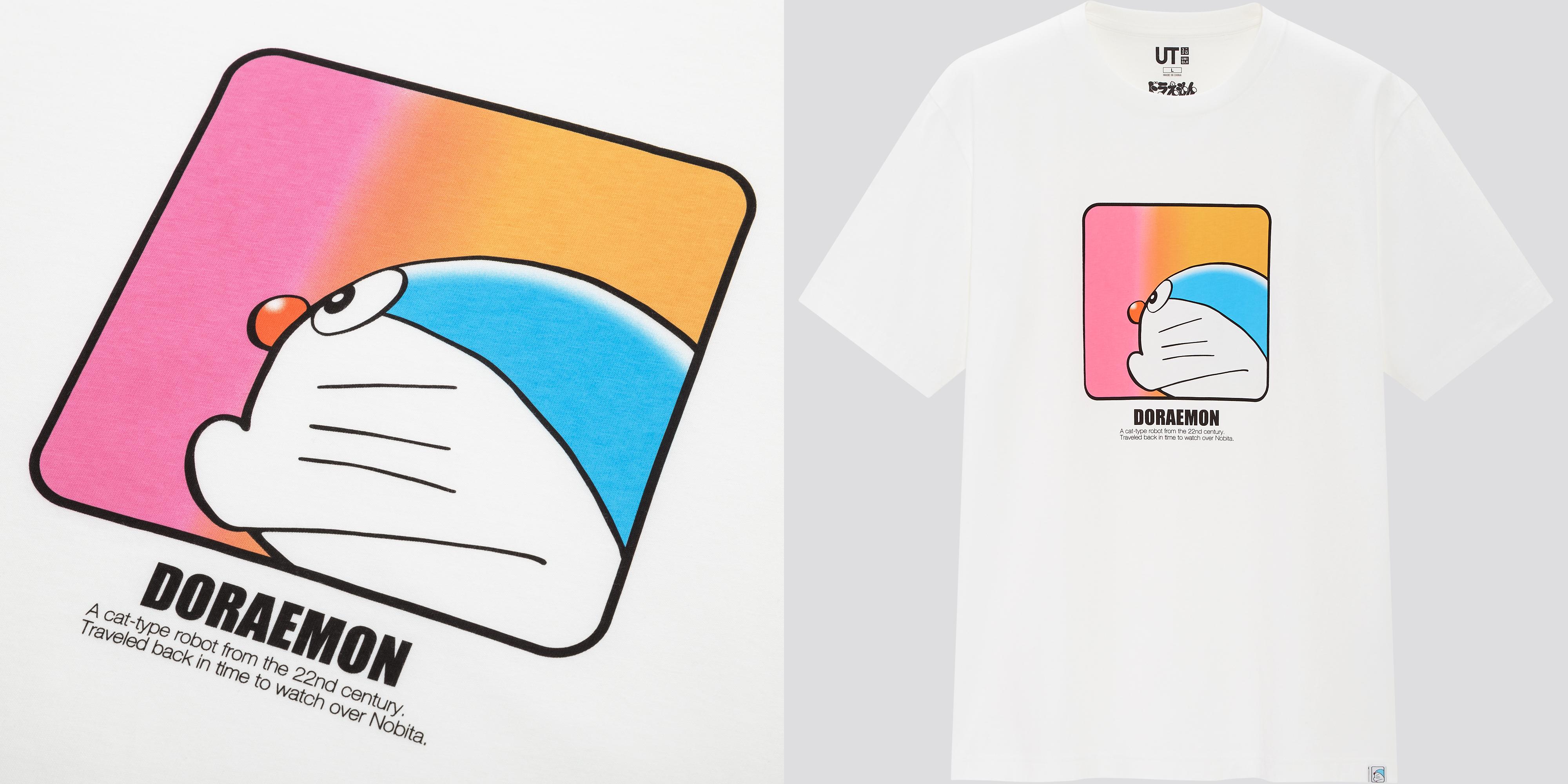 「ユニクロ」×『ドラえもん』コラボTシャツ登場「ドラえもんUT」