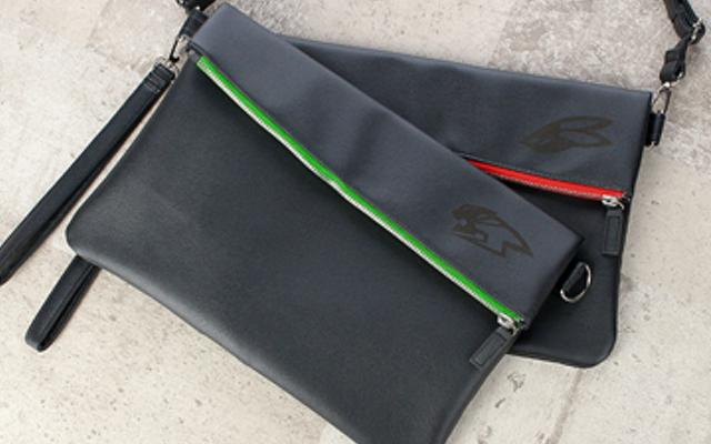 『タイバニ』ワイルドタイガー&バーナビーをイメージしたクラッチバッグが登場!ショルダーバッグとしても使用可能