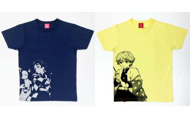 『鬼滅の刃』×「OJICO」コラボTシャツ予約受付中!豊富なカラバリ&サイズ展開が魅力
