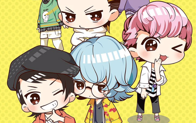 『ゲラゲラ』SDキャラショートアニメのキービジュ公開!「ゼロサム」にてコミカライズ連載も決定
