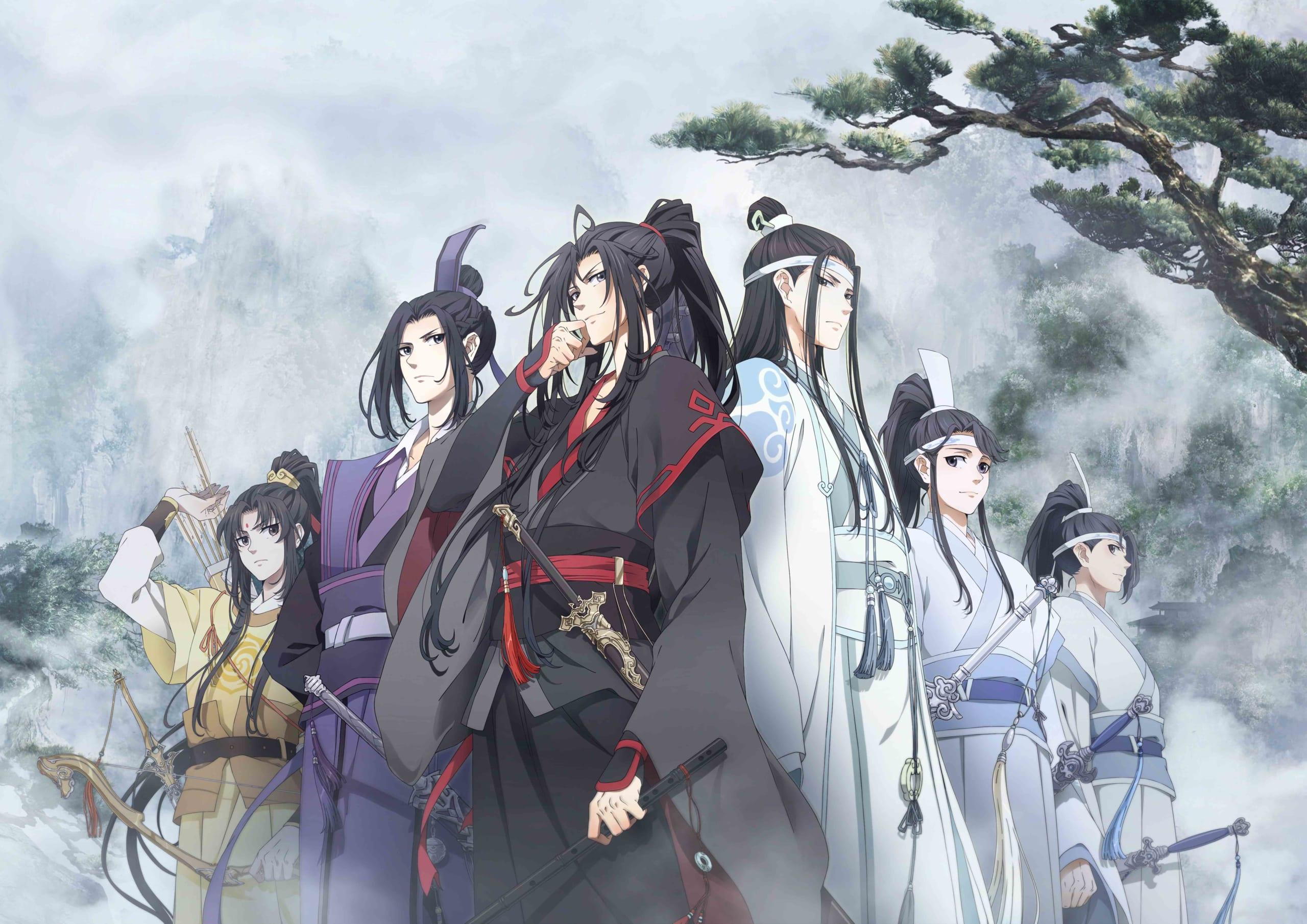 中国のBL小説が原作のアニメシリーズ『魔道祖師』日本上陸!アジア全域で爆発的人気