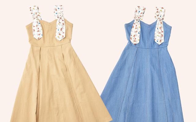 「リラックマ」x「MIIA」さりげないリラックマデザインのジャンスカ・カーデ・スカートが販売決定!