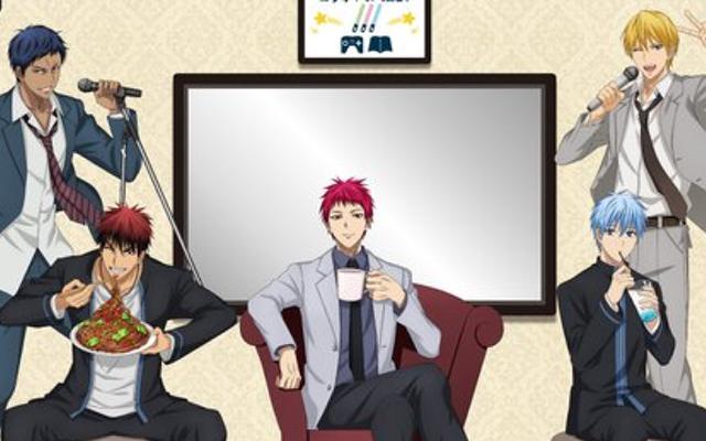 TVアニメ『黒バス』x「カラ鉄」コラボ開催決定!カラオケを満喫するキセキの世代&黒子・火神の描き下ろし公開