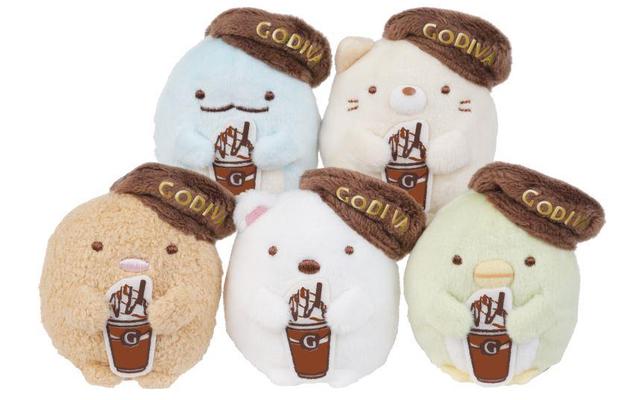 「GODIVA」×『すみっコぐらし』限定アイテムが期間限定で登場 「ショコリキサー」注文でオリジナルステッカーがもらえる!