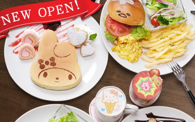 「サンリオ カフェ」池袋店がオープン!キャラモチーフのメニュー&テイクアウト専門のカフェワゴンも