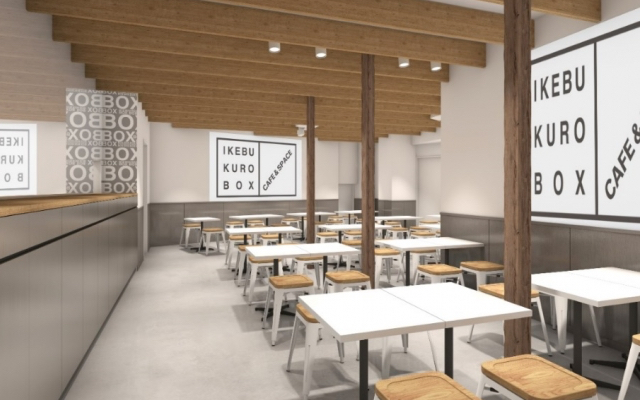 FUNな仕掛け・演出が特徴のコラボカフェ「IKEBUKURO BOX cafe&space」新たにオープン!