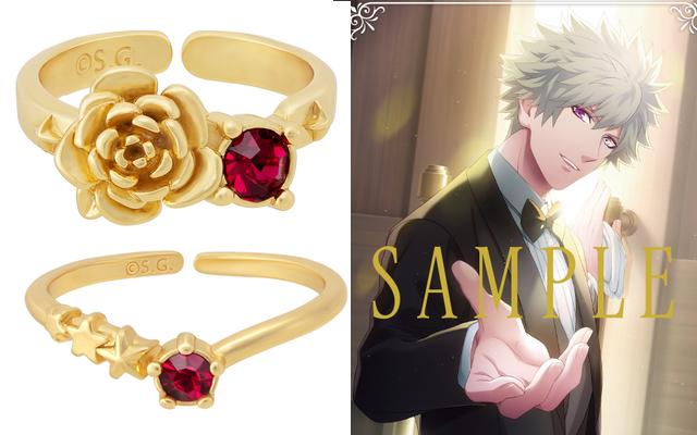 『うたプリ』蘭丸のバースデーリングセット予約受付開始!バラが美しいリング・缶バッジ・イラストカードに注目