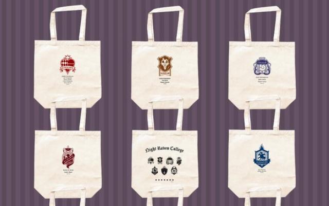 『ツイステ』キャンバストートバッグが登場!各寮章&校章がデザインされたシンプルなアイテム