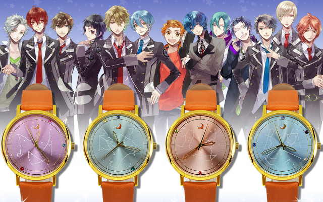 『スタスカ』コラボ腕時計が予約開始!キャラとの思い出&春夏秋冬のストーリーをモチーフにした全4種